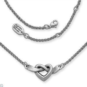 James Avery heart ❤️ knot necklace.